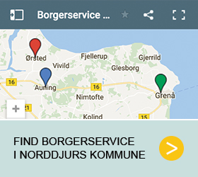 Find Borgerservice i Norddjurs Kommune