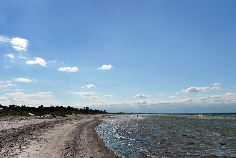 Billede af dejlig strand om sommeren