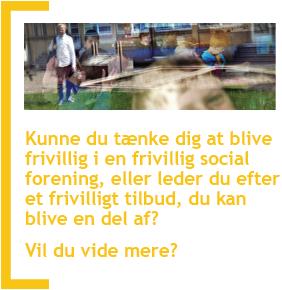 Gå til hjemmesiden frivillig.norddjurs.dk for at få mere at vide om frivillighed i Norddjurs